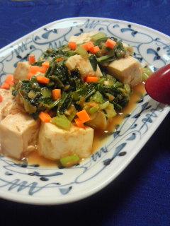 生姜味噌のベジまーぼー