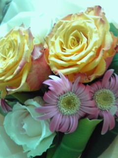 花束を頂きました♪
